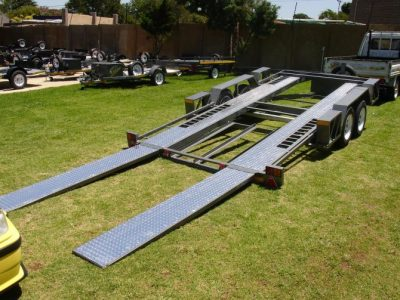 2m Car Trailer Double Axle for Sale - Helderberg Trailer Sales