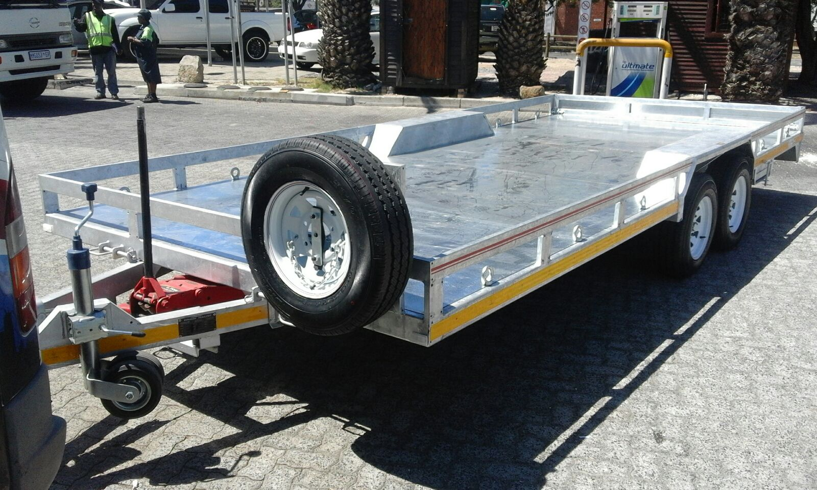 DeLux Car Transporter 5.5m Trailer for sale from Helderberg Trailer Sales