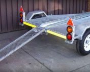Single Bike Basic Trailer Helderberg Trailer Sales